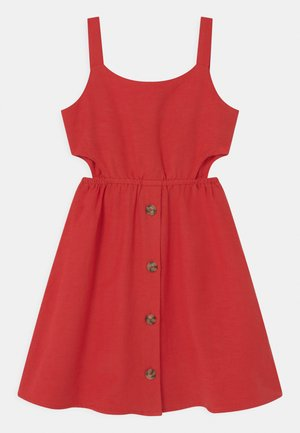 TEEN GIRLS - Day dress - tomato puree