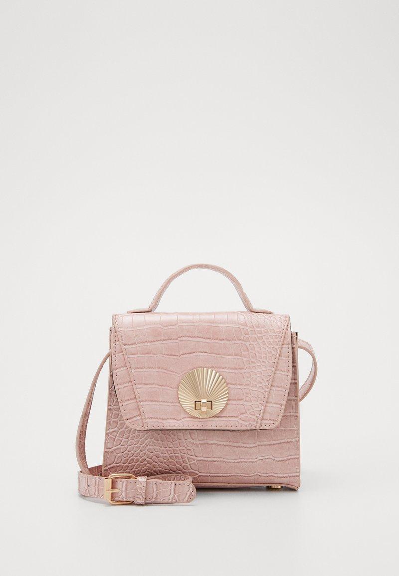 Pieces - PCMULAN CROSS BODY - Handbag - misty rose