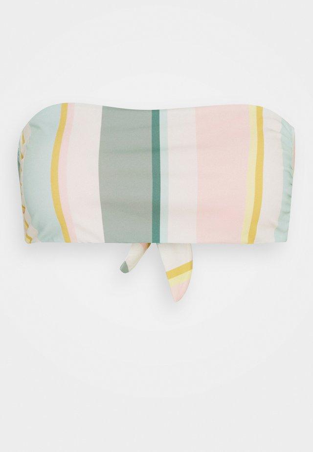FEELIN SALTY BANDEAU - Bikini top - multi