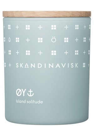 SCENTED CANDLE WITH LID - Duftlys - øy