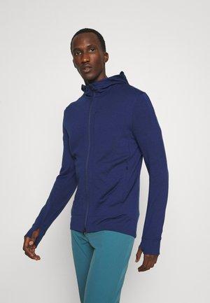 QUANTUM III ZIP HOODIE - Zip-up sweatshirt - royal navy
