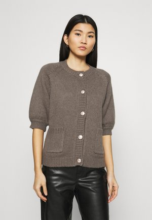 HANNALI CARDIGAN - Cardigan - earth