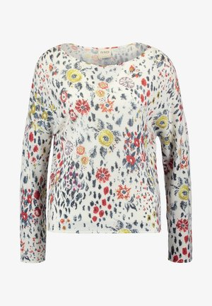 PULLOVER FLORAL PRINT - Jumper - off-white