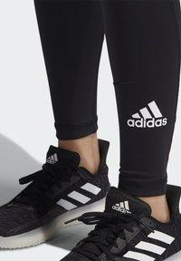 adidas Performance - TECHFIT STRIPES LONG - Medias - black/white - 3