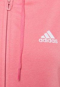 adidas Performance - Felpa aperta - light pink - 2