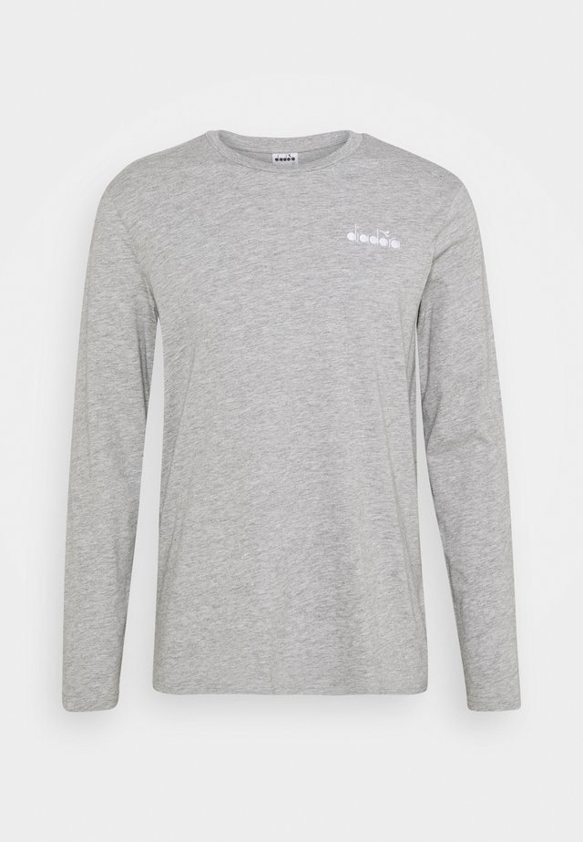 CHROMIA - Langærmede T-shirts - light middle grey melange