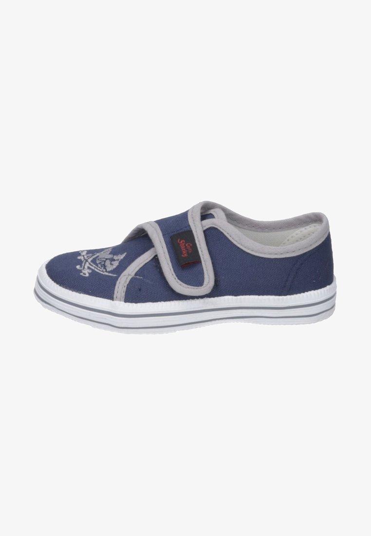 Capt'n Sharky - ANTON - Touch-strap shoes - blau/grau