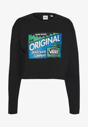 RAMP TESTED CREW - Sweatshirt - black