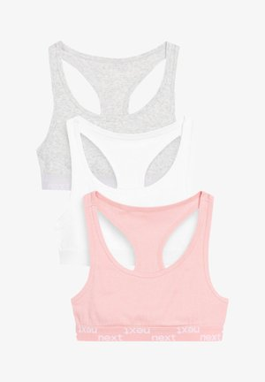 3 PACK - Toppe - pink