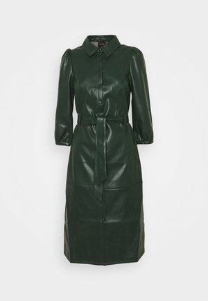 VMBUTTER LEE COATED BELOW DRESS - Kjole - pine grove