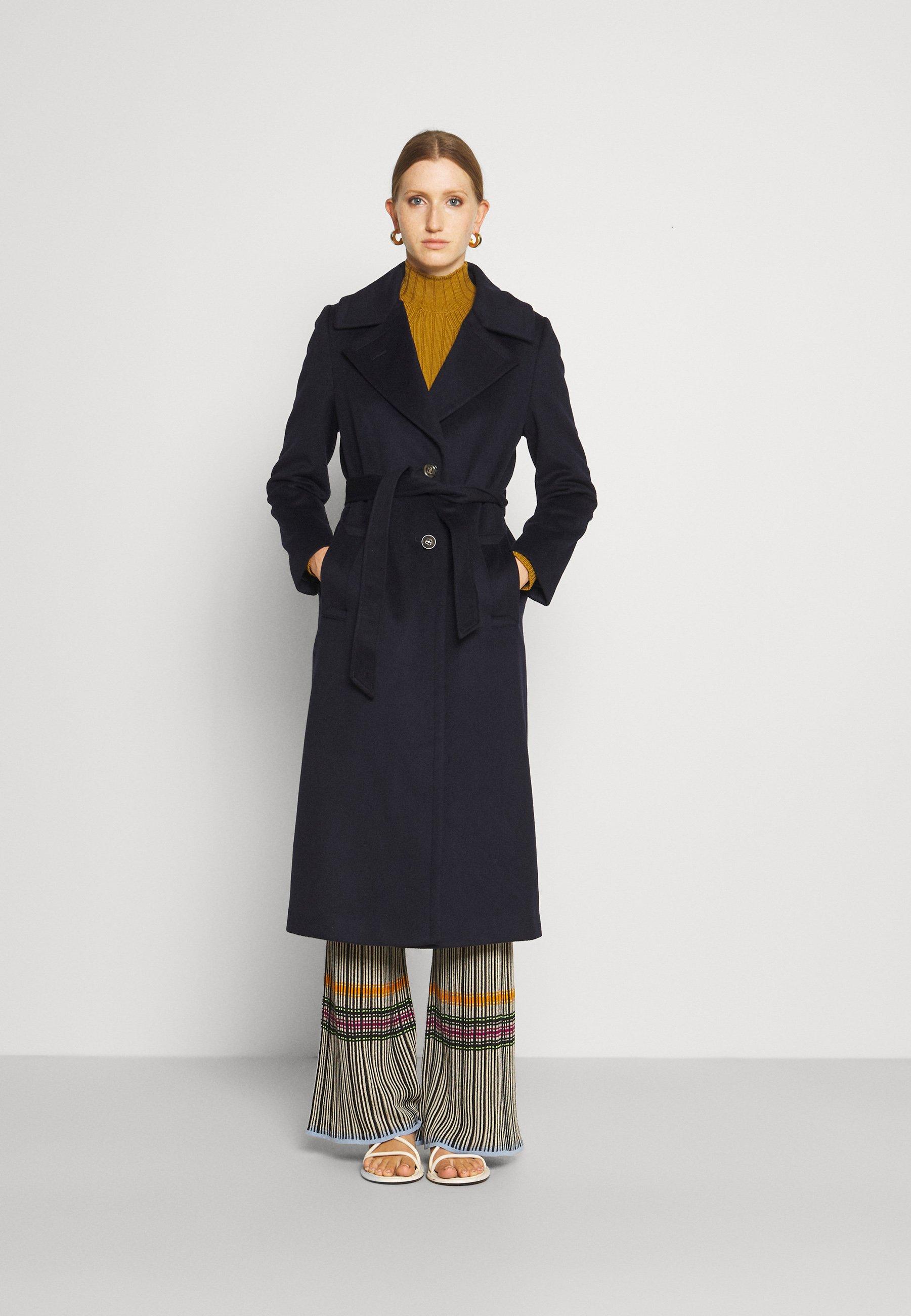 Femme COAT CLARETA BELT - Manteau classique