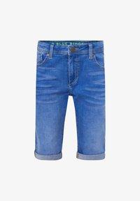 WE Fashion - Denim shorts - bright blue - 0