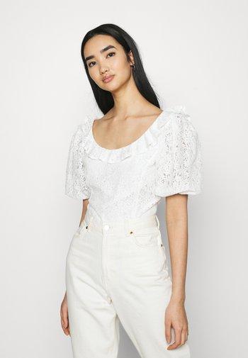 HOLMES - Camiseta estampada - white