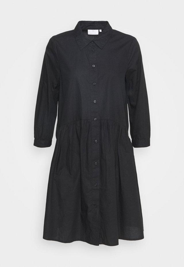 KADALE - Shirt dress - black deep