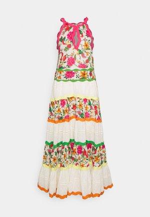 TOUCANS GARDEN DRESS - Maxi dress - off-white
