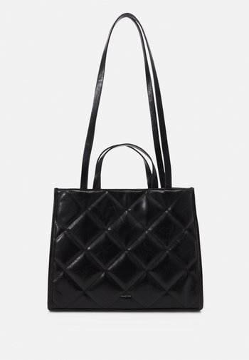 SHOPPER BAG SKY - Tote bag - black