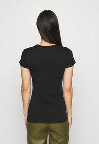 G-Star - EYBEN SLIM 2 Pack - T-shirt basic - black/white - 2