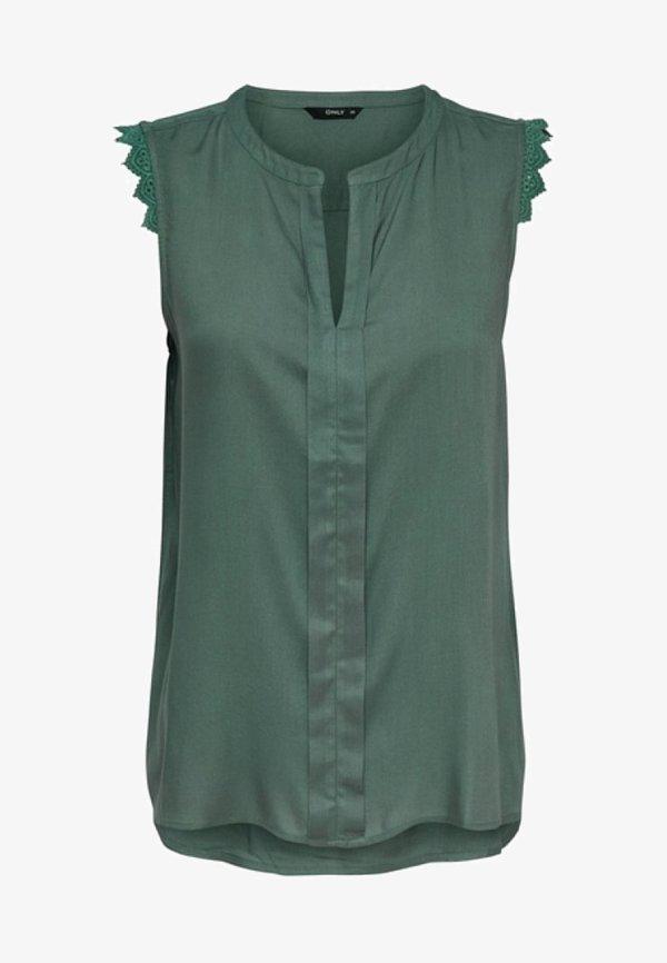 ONLY Bluzka - balsam green/khaki NNYT