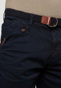 INDICODE JEANS - CONER - Shorts - navy - 3