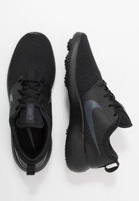 Nike Performance - ROSHE G - Golfskor - black/anthracite - 1