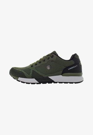 Sneakers - military green black