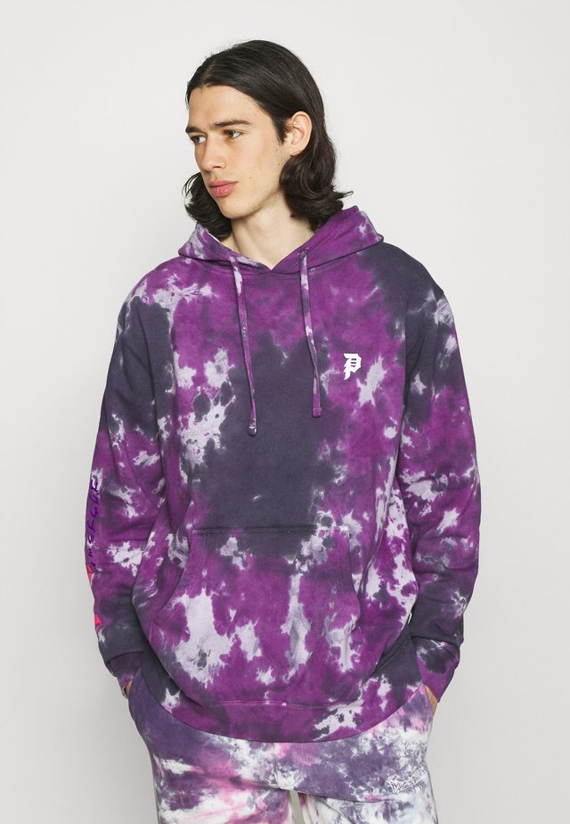 GOKU BLACK ROSE WASHED HOOD - Sweatshirt - purple