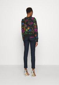 Versace Jeans Couture - Zip-up sweatshirt - black/multi - 4