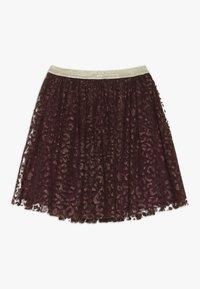The New - ANNA FANNA SKIRT - Mini skirt - winetasting - 1