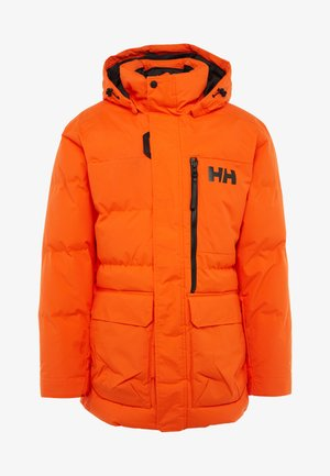 TROMSOE JACKET - Kurtka zimowa - bright orange