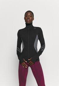 adidas by Stella McCartney - TRUEPACE - Chaqueta de entrenamiento - black/granite - 0