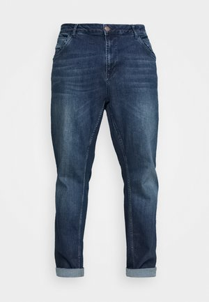 HENLOW PLUS - Slim fit jeans - dark used