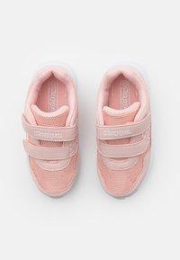 Kappa - UNISEX - Sportovní boty - dark rosé/white - 3