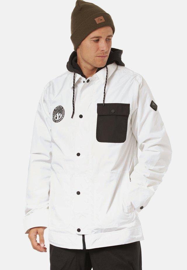 Hardshell jacket - stout white