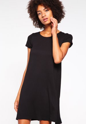 ONLBERA BACK DRESS - Jersey dress - black