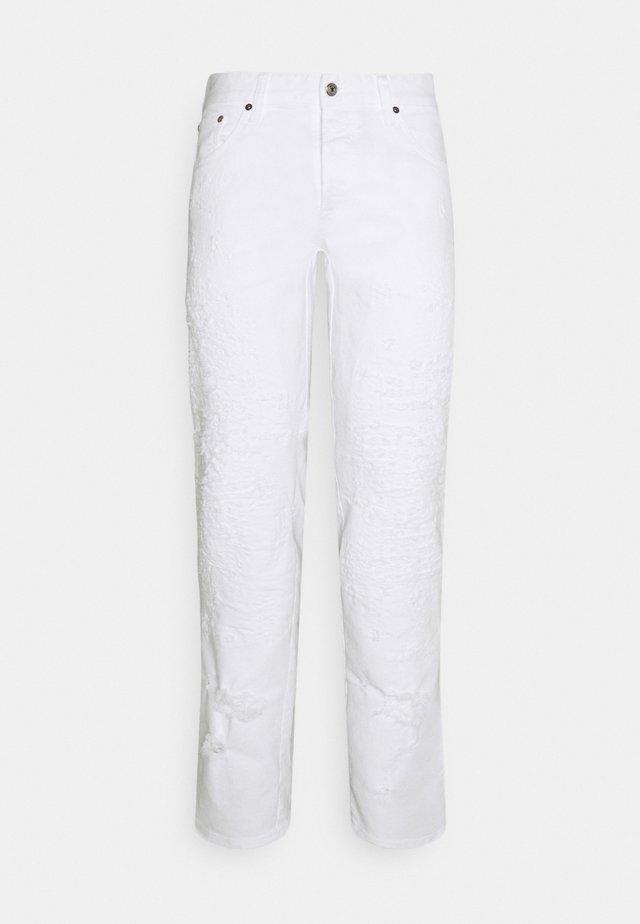 PANTALONE - Džíny Slim Fit - optical white