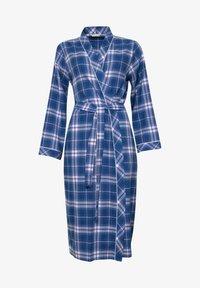 Cyberjammies - Dressing gown - blue chks - 2