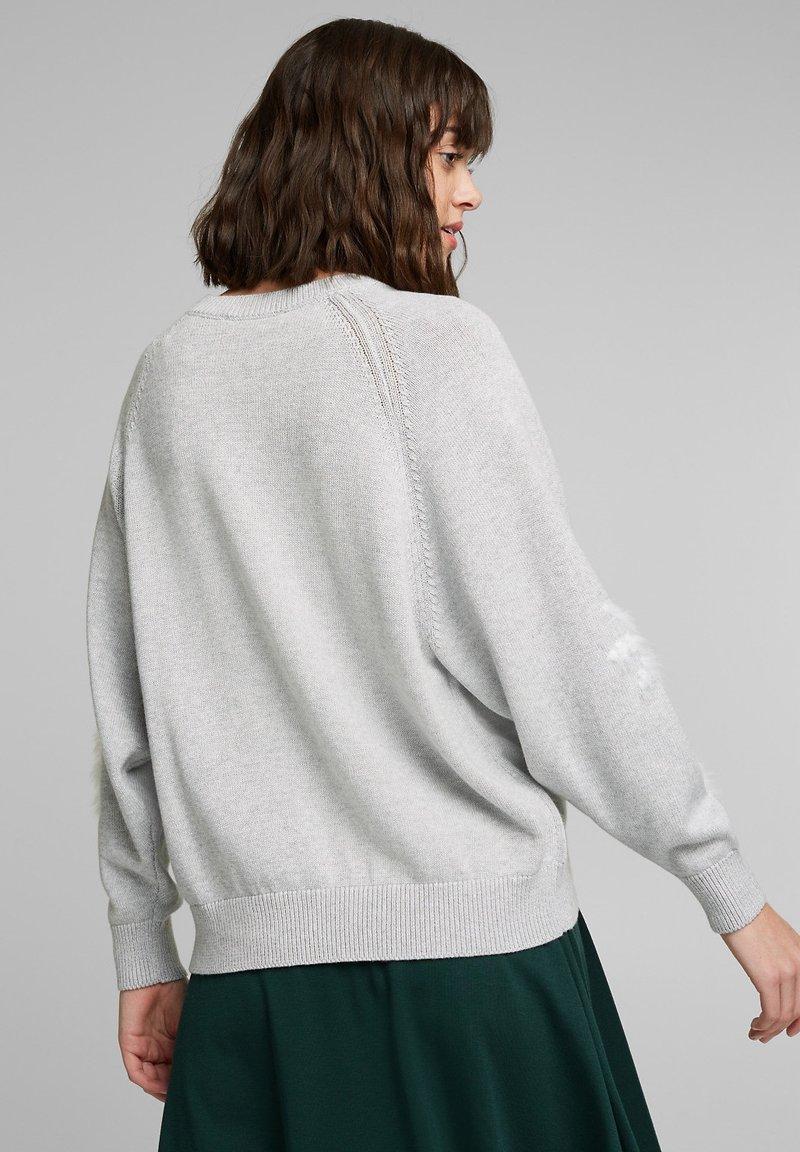 edc by Esprit Strickpullover - light grey/hellgrau y2qRrK