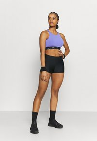 Under Armour - MID RISE SHORTY - Tights - black - 1