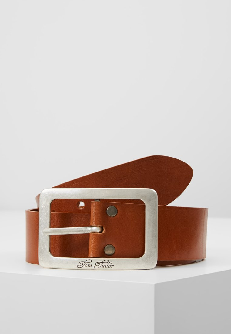 TOM TAILOR - Belt - cognac