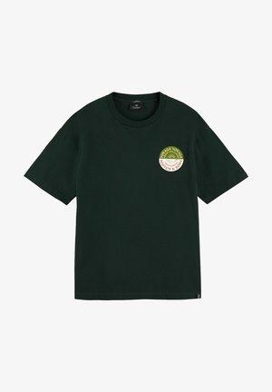ARTWORK TEE - Print T-shirt - sea green
