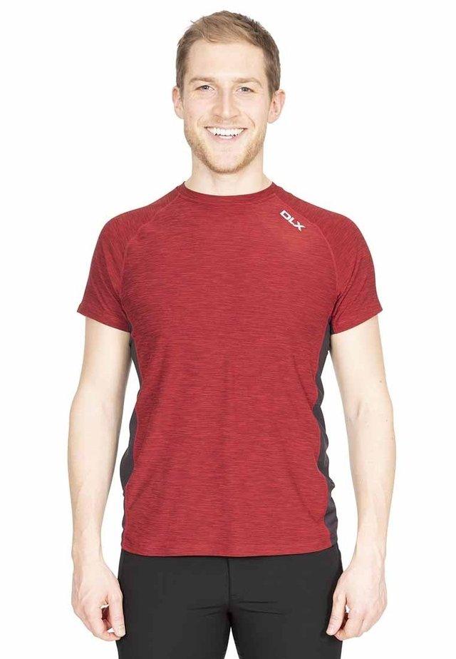 COOPER - Print T-shirt - red