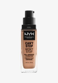 Nyx Professional Makeup - CAN´T STOP WON´T STOP 24H FOUNDATION - Foundation - 43595 medium buff - 0