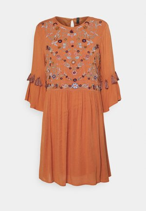 YASCHELLA TUNIC  - Day dress - autumn leaf