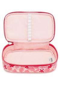 Kipling - Pencil case - pink leaves - 3