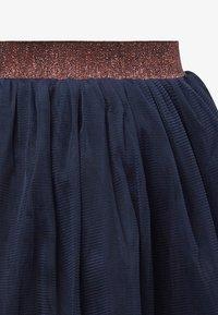 TOM TAILOR - Pleated skirt - black iris|blue - 2