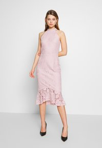 Nly by Nelly - FAB MIDI DRESS - Sukienka koktajlowa - rose - 0