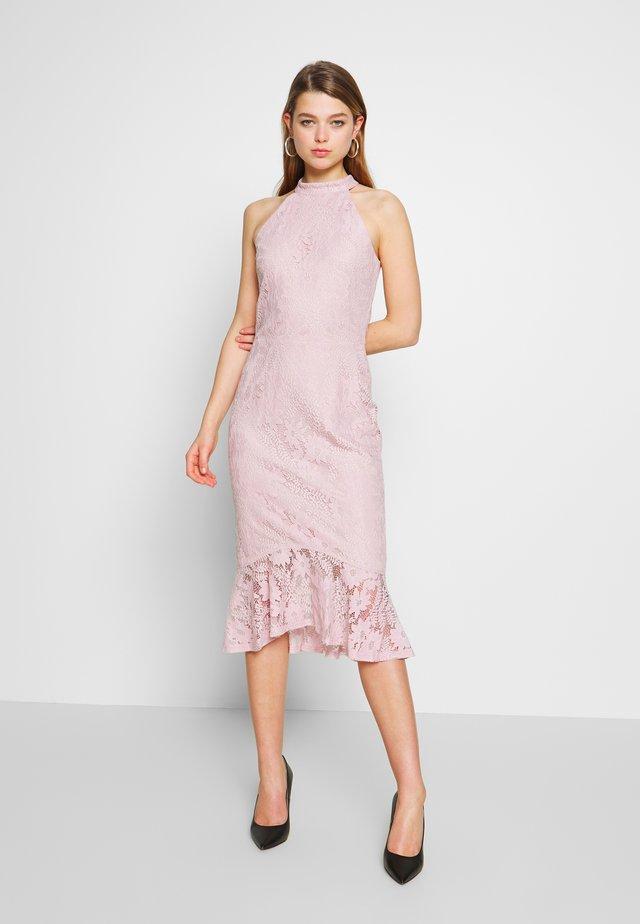 FAB MIDI DRESS - Cocktailkleid/festliches Kleid - rose