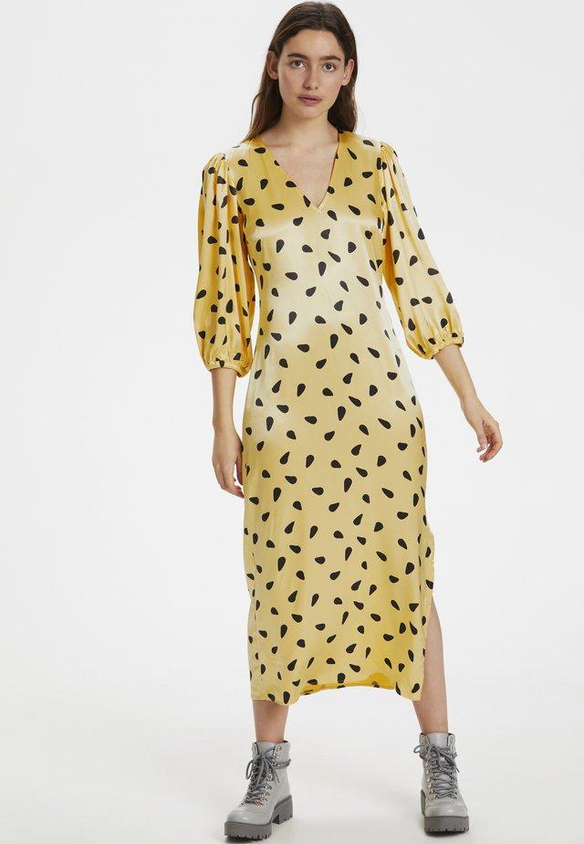 LUTILLEGZ  - Day dress - yellow/black