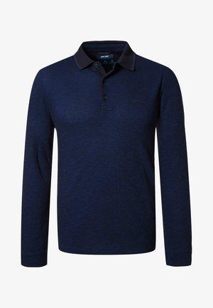 JACQUARD  - Polo shirt - marine