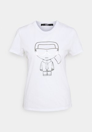 IKONIK OUTLINE  - Print T-shirt - white